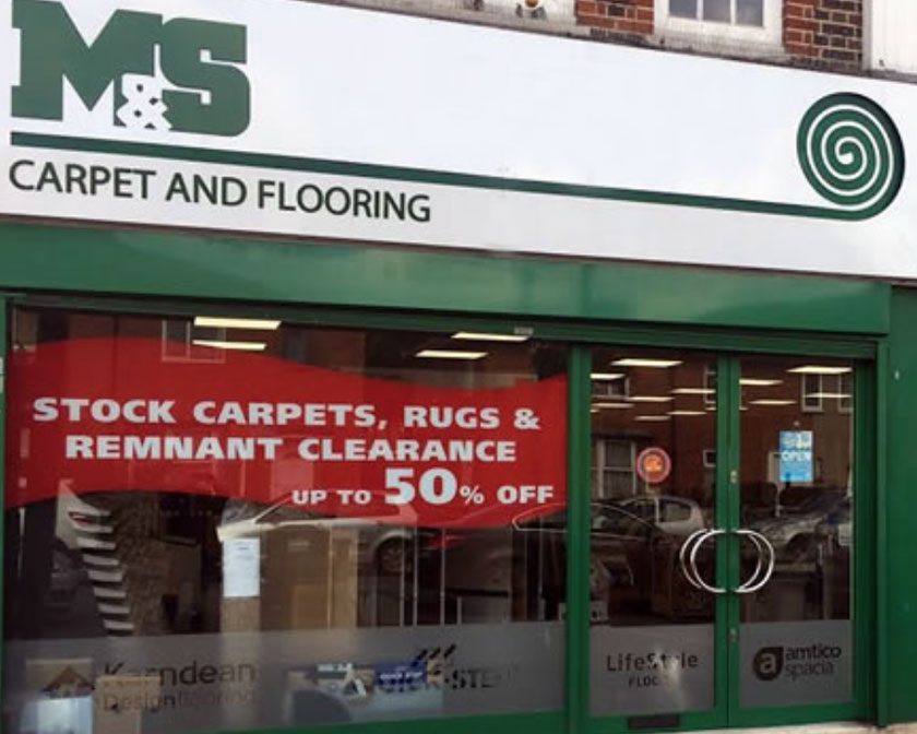 Carpet Shop Front Sutton